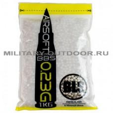 Шары для страйкбола BLS White 0,23g/1kg