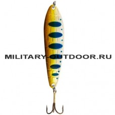 Блесна Lucky John CROCO SPOON SHALLOW BIG GAME MISSION 18гр/019