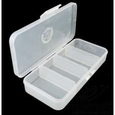 Коробка КМ-1 130х60х25мм 4 отделения