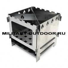 Печь-щепочница СЛЕДОПЫТ 154х154х150 мм PF-HP-S01