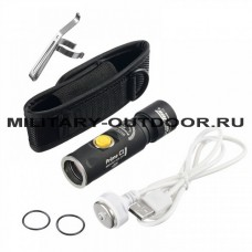 Фонарь Armytek Prime C1 XP-L Magnet USB+18350 White Light