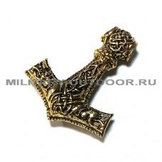 Бусина Mjölnir Gold