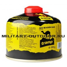 Баллон газовый резьбовой Tramp 230 г TRG-003