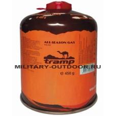 Баллон газовый резьбовой Tramp 450 г TRG-002