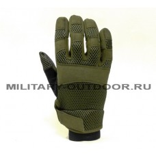 EDGE Tactical Mesh Gloves Olive