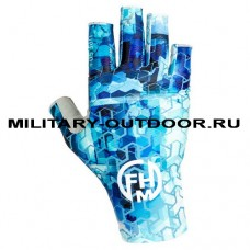 Перчатки FHM Mark Blue Print