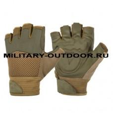 Helikon-Tex Half Finger Mk2 Gloves Olive Green/Coyote