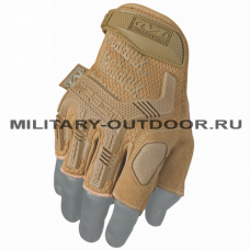 Mechanix Wear M-Pact Fingerless Gloves Coyote