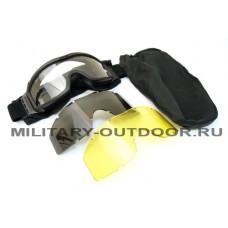 Очки-маска Daisy Tactical XT Black