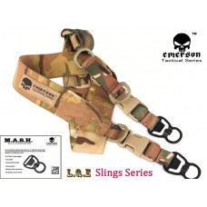 Оружейный ремень Emerson L.Q.E. One+Two Point Slings Series Multicam