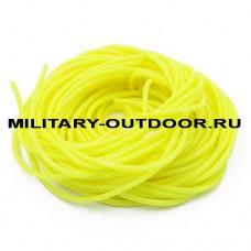 Кембрик 0,8/1,5x1000 мм флуоресцентный желтый