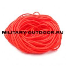 Кембрик 1,0/2,0x1000 мм флуоресцентный красный