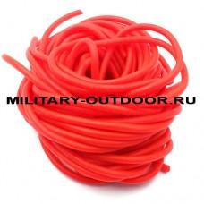 Кембрик 2,0/4,0x1000 мм флуоресцентный красный