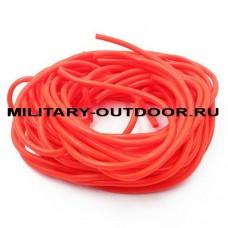 Кембрик 3,0/4,0x1000 мм флуоресцентный красный
