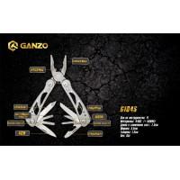 Мультитул Ganzo G104S