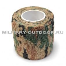 Маскировочная лента 50mm/4.50m 4 Color Camo