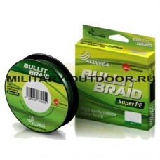 Шнур плетёный Allvega Bullit Braid 0.08/135м Dark Green