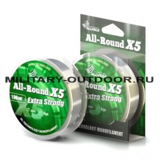 Леска Allvega All-Round X5 0.12mm/100m