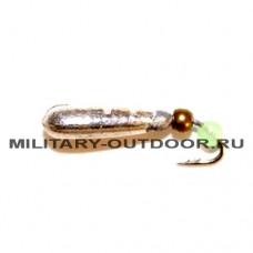 Мормышка вольфрамовая Diskus 4530 Рисинка 3мм/0,5гр