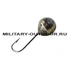 Мормышка вольфрамовая Diskus 1140 Шар гранёный 4мм/0,51гр