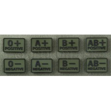 Helikon-Tex Blood Patch PVC Olive Green 0+