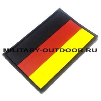 Патч Флаг Германии 90x60мм Black PVC
