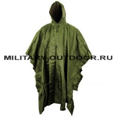 Anbison Poncho Olive