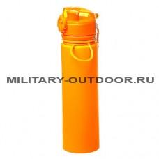 Бутылка силиконовая Tramp 700ml TRC-094 Orange