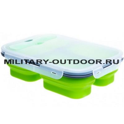 Контейнер силиконовый Helios PR-FH007 Green
