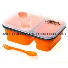 Контейнер силиконовый Tramp 900ml TRC-090 Orange