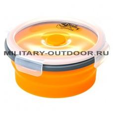Контейнер силиконовый Tramp 550ml TRC-088 Orange