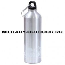 Бутылка Следопыт алюминиевая 600 мл PF-BD-A600 Silver