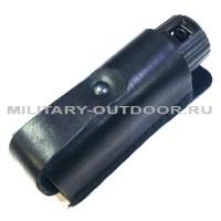 Чехол для газового баллончика d35мм/65-100мл кожаный Чёрный