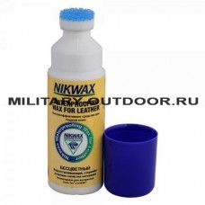 Пропитка Nikwax Waterproofing Wax For Leather Liquid 125 ml