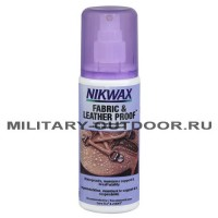 Пропитка Nikwax Fabrick & Leather Proof Spray 125 ml