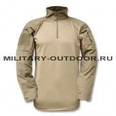 Mil-tec Combat Tactical Shirt Coyote