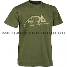 Helikon-Tex Chamelion Skeleton T-Shirt Olive Green