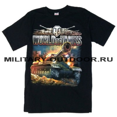 Футболка World Of Tanks #2 Black
