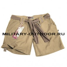 Mil-tec Army Shorts Woman Khaki