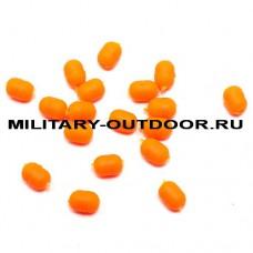 Бусины фидерные Namazu Soft Beads PVC Orange/20шт N-SBF-05